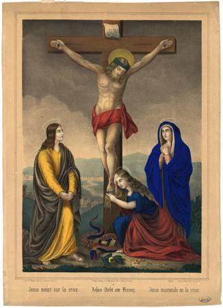 Jésus meurt sur la croix – Jesus stirbt am Kreuz – Jesus muriendo en la cr…