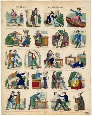 Jeux de mots – Französische Wortspiele