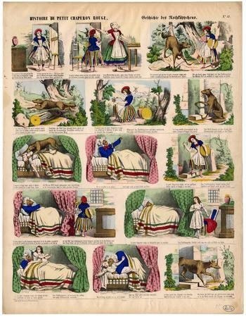 Histoire du Petit Chaperon rouge – Geschichte des Rothkäppchens