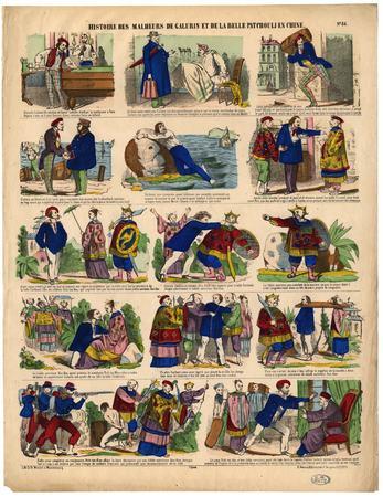 Histoire des malheurs de Galurin et de la belle Patchouli en Chine
