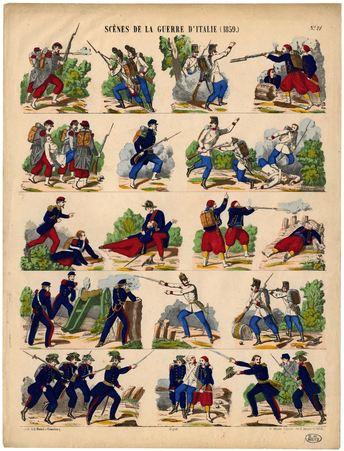 Scènes de la Guerre d'Italie (1859)