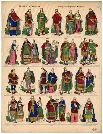 Rois et reines de France – Köninge und Königinen von Frankreich