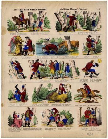 Aventures de Sir William Blacfort – Sir William Blackfort's Abenteuer