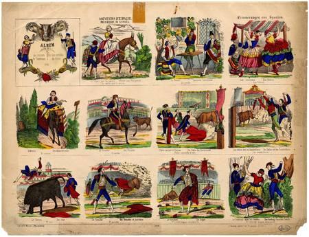 Album de courses de taureaux- Album de las corridas de toros