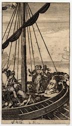 Abrégé de la Cléopâtre: Coriolan sur le bateau d'Artaxe