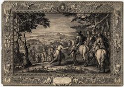 Réduction de la ville de Marsal en Lorraine par le Roi Louis XIV l'an 1663