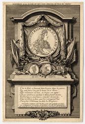 Monument à la gloire du roi dans l'hôtel de ville de Troyes