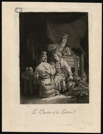 Le Chartier et la Laitiere