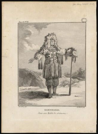 Kamtchadal dans son Habit de cérémonie