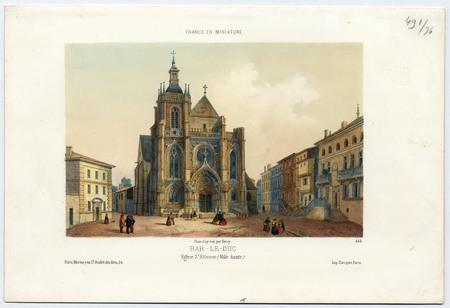 Bar-le-Duc, Église Saint Étienne (ville haute)