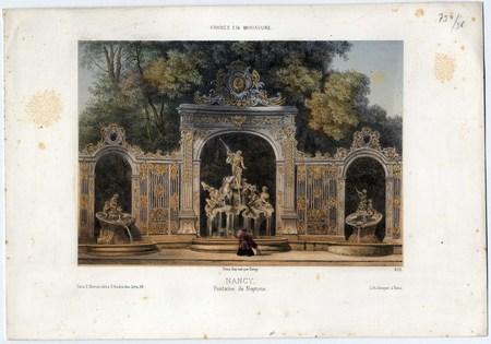 Nancy, Fontaine de Neptune