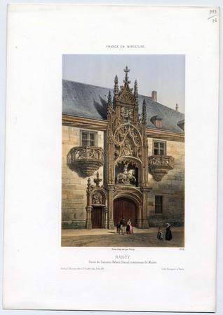 Nancy, Porte de l'ancien Palais Ducal, maintenant le Musée