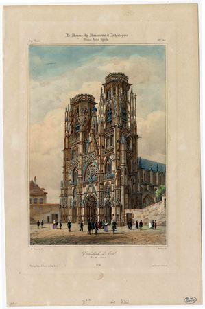 Cathédrale de Toul. Portail occidental
