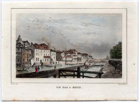 Le sas à Metz
