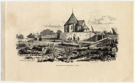 Oratoire des templiers, à Metz