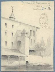 Hôpital Bonsecours en 1840