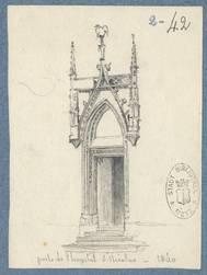 Porte de l'hôpital St-Nicolas