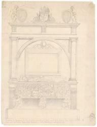 Élévation du tombeau de Louis le débonnaire tel qu'il était avant la Révol…
