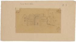 Ruines étant à l'évêché de Metz