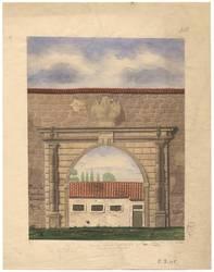 Porte de l'ancienne Citadelle Metz
