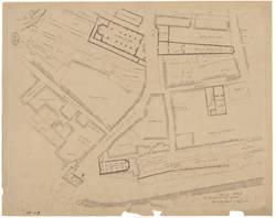 Vers 1743 - archives de la ville, propriétés - travaux publics - plans por…