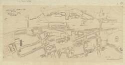 Partie d'un plan de Metz en 1758