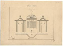 Lever de batiment - Fontaine Ste Croix