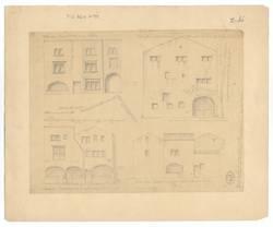 [Façades de plusieurs maisons en 1790 et 1791 ruelle St Martin, rue du Por…