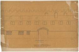 [Calque de l'] Hôtel de Mr de Gargan (Metz) - rue Maxirue - Levé par A.Cun…