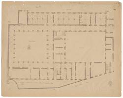 Maison couventuelle de St Vincent - appropriée au Lycée [plan de 1798 ou 1…