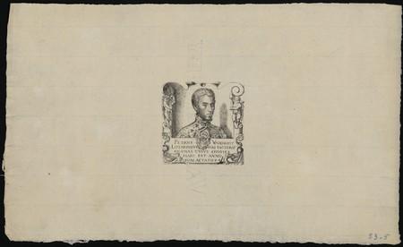 Petrus Woeiriot Lotaringus has faciebat eiconas cuius effigies haec est an…