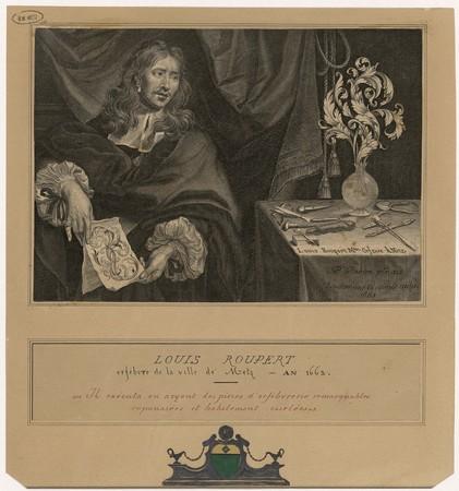 Louis Roupert : maître orfèvre à Metz