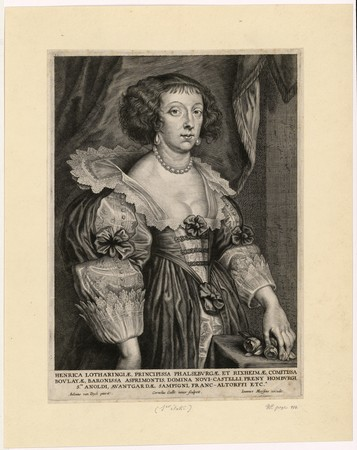 Henrica Lotharingiae Principissa Phalseburgae et Rixheimae