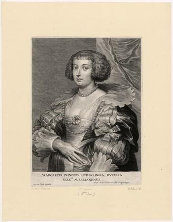 Margareta Princeps Lotharingia Ducissa Sere.ma Aurelianensis