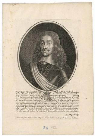 Nicolas François : duc de Lorraine et de Bar