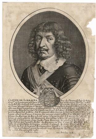 Claude de Lorraine : duc de Chevreuse, pair de France