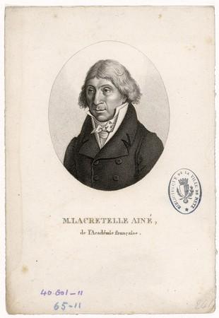 M. Lacretelle aîné : de l'Académie française