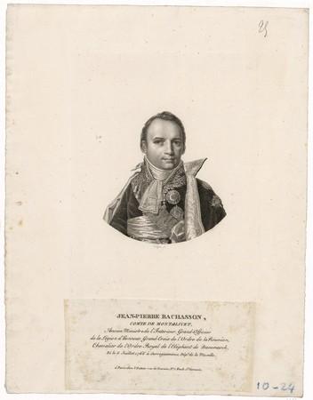 Jean-Pierre Bachasson : comte de Montalivet