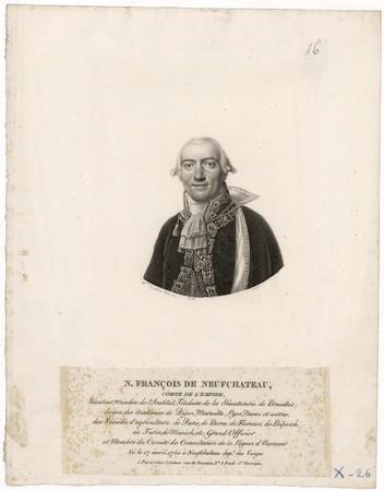N. François de Neufchateau : comte de l'Empire