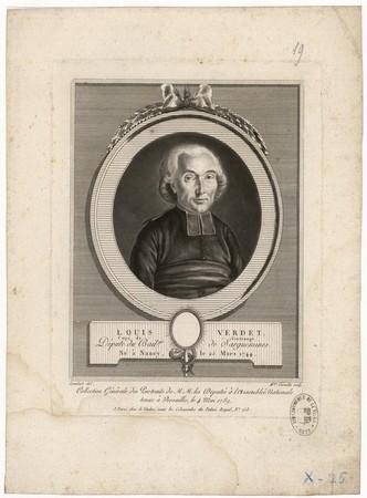 Louis Verdet : curé de Vintrange, député du bailliage de Sarguemines