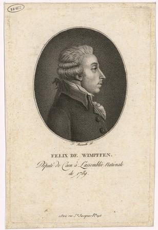 Félix de Wimpffen : député de Caen à l'Assemblée nationale de 1789