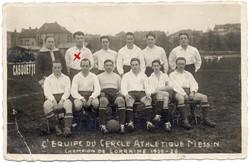 L'équipe du cercle athlétique messin champion de Lorraine 1925-1926