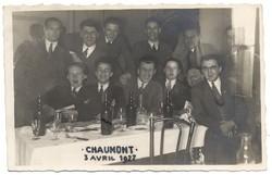 Les Wanderers du cercle athlétique à Chaumont 3 avril 1927