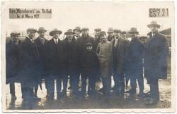 Les Wanderers au Thillot le 6 mars 1927