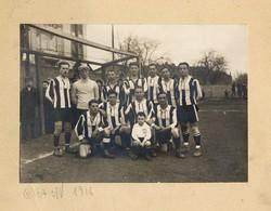 [L'équipe du cercle athlétique messin en 1916]