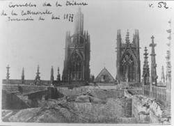 L'incendie de la cathédrale, le 7 Mai 1877