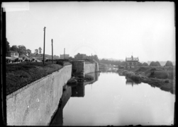 Les remparts de l'Esplanade vers 1900
