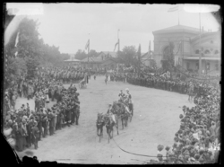 Arrivée de Guillaume II à Metz, 1903