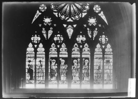 Verrière du transept sud, détail