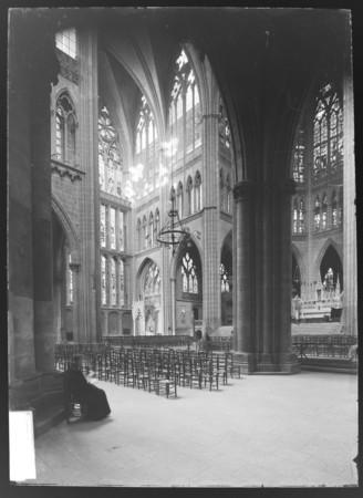 Le transept nord et le chœur